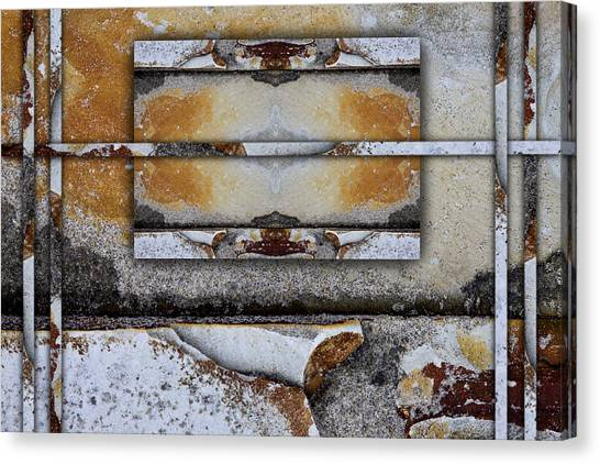 Geology Canvas Print - Between Tides Number 9 by Carol Leigh