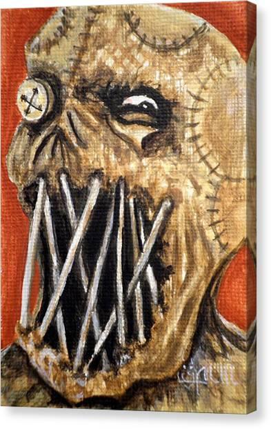 Beware The Fear Canvas Print by Al  Molina