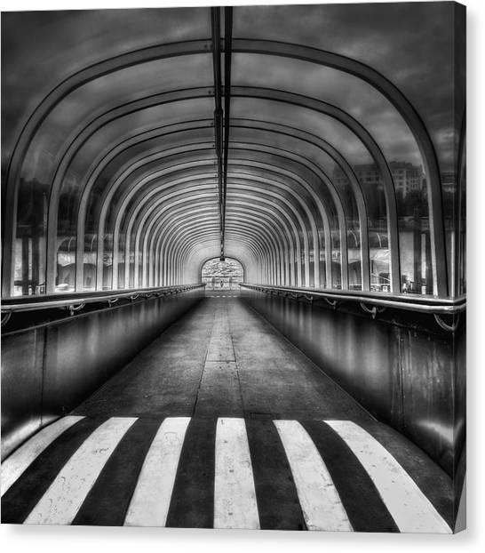 Walk Canvas Print - Beyond My Destiny by Evelina Kremsdorf