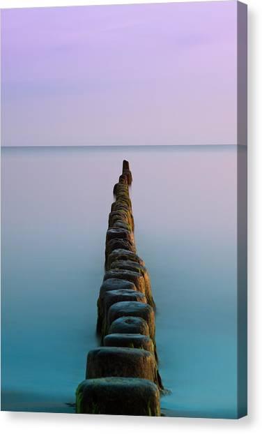 Robert Frank Canvas Print - Beyond The Horizon  by Robert Frank