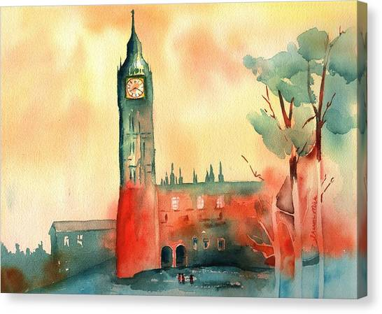 Big Ben    Elizabeth Tower Canvas Print