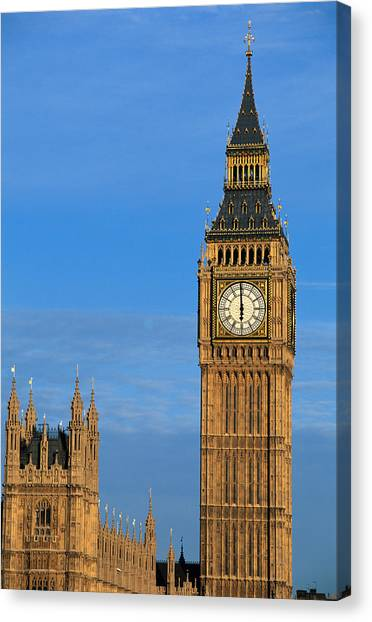 Big Ben And Parliament Building London England
