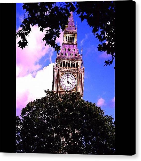 Big Sky Canvas Print - Big Ben by Avril O