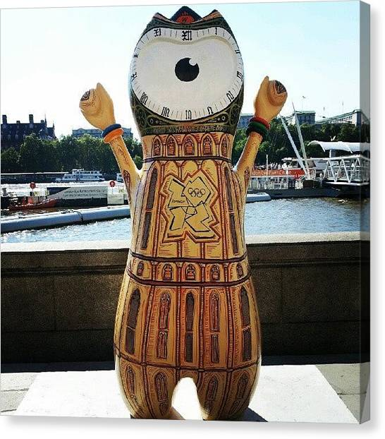 Big Ben Canvas Print - Big Ben Mandeville by Lynda Larbi