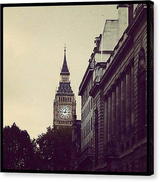 Big Ben Canvas Print - Big Ben by Melissa Petrey