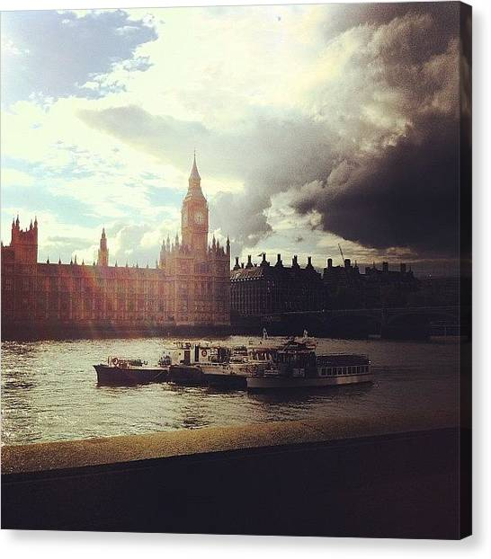 Parliament Canvas Print - Big Ben by Samuel Gunnell