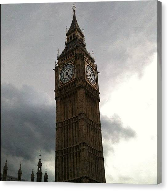 Big Ben Canvas Print - Big Ben by Steven Black