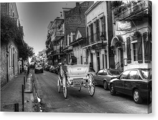 Big Easy Carriage Ride Canvas Print