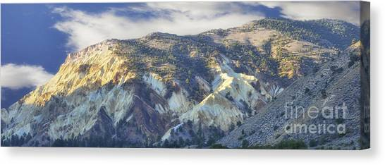 Big Rock Candy Mountains Canvas Print