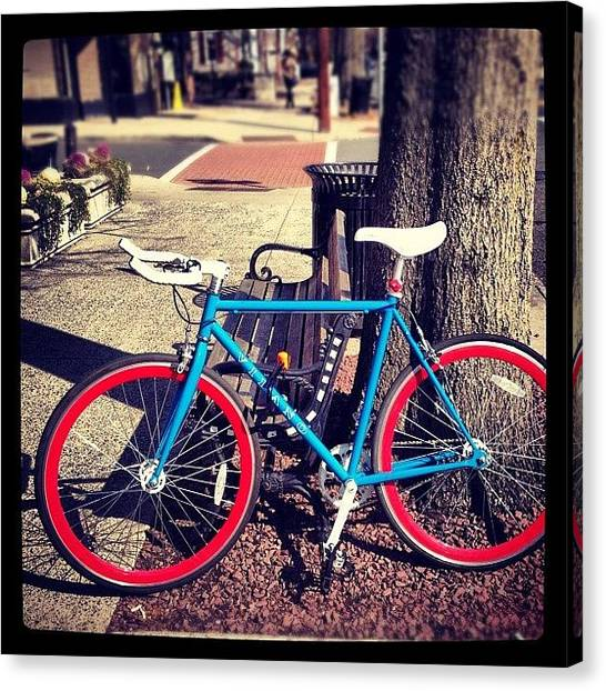 Apples Canvas Print - Bikeperfection by Apple