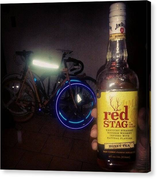 Reef Sharks Canvas Print - Bikes, Bourbon, And Fiks Reflective by Wesley Shark