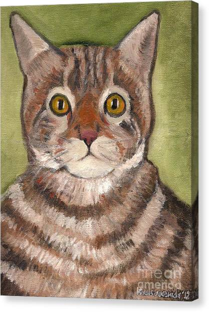 Bill The Cat  Canvas Print by Kostas Koutsoukanidis