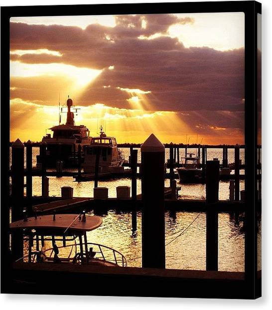 Bahamas Canvas Print - #bimini #bahamas #ignation #goodmorning by Kiki Bird