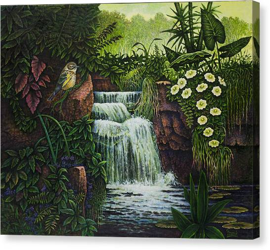 Bird In Paradise IIi Canvas Print