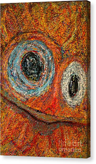 Birdman Canvas Print by Bill Davis
