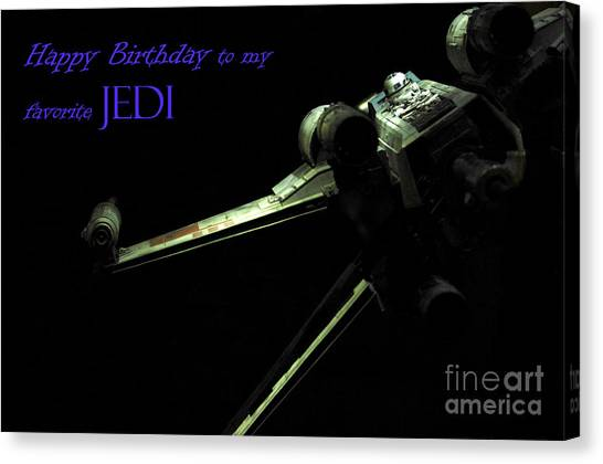 Prop Planes Canvas Print - Birthday Card by Micah May
