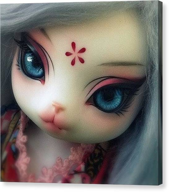 Korean Canvas Print - #bjd  #balljointdoll #korea #anthro by Samantha Huynh