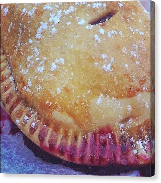 Berries Canvas Print - Blackberry Hand Pie by Shana Ray