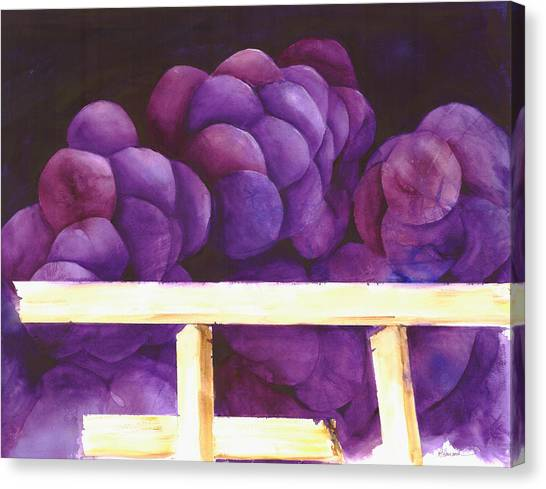 Blackberry Whine Canvas Print