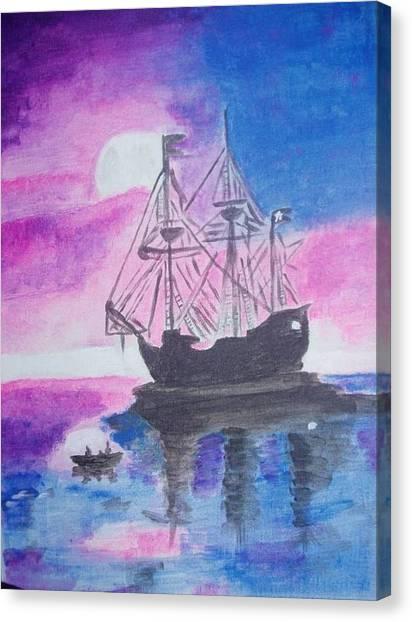 Blackpearl Canvas Print