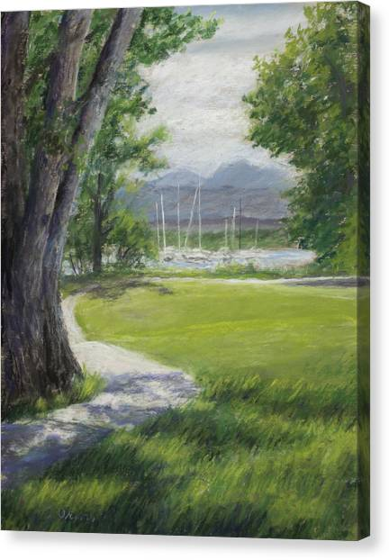 Canvas Print - Blke Trail 1 by Susan Driver