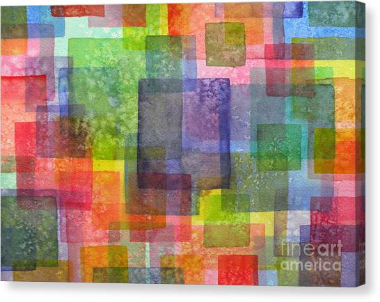 Blocks IIi Canvas Print