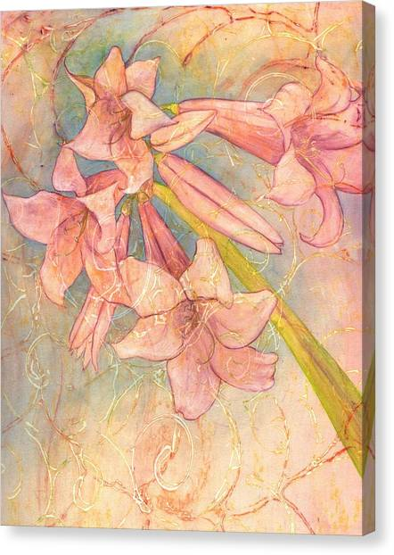 Blooming Above Canvas Print by Sara Bell