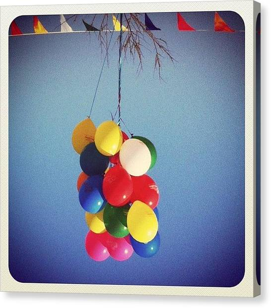 Balloons Canvas Print - Bloons by Seras S