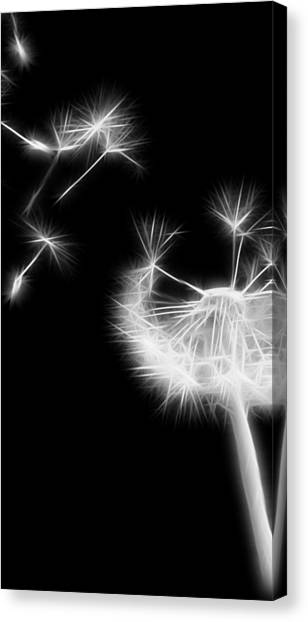 Blown Away - Sparklized Canvas Print