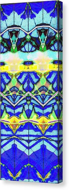 Blue 3 10 Canvas Print