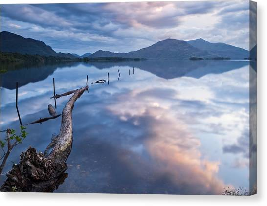 Blue Moment Canvas Print by Brendan O Neill