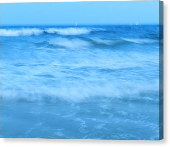 Blue Paradise Canvas Print by Debra Webb