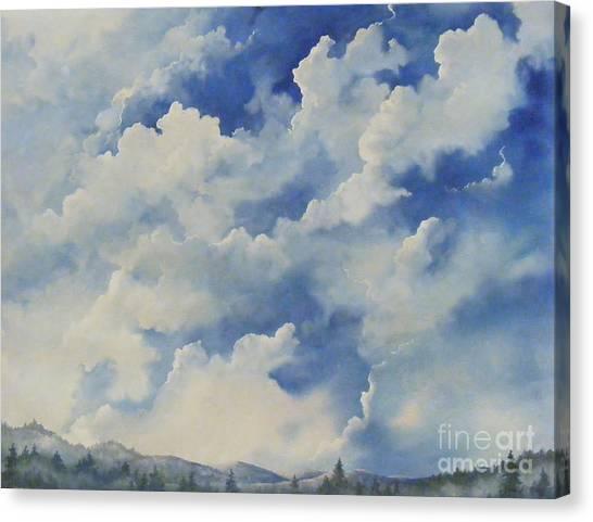 Blue Ridge Vista...sold  Canvas Print