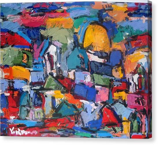 Blue Rome Canvas Print