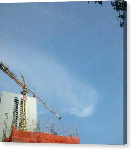 Machinery Canvas Print - Blue Sky Appears Again! Really A Good by Dennis Isuzu