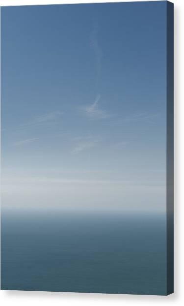 Blue Stratos Canvas Print