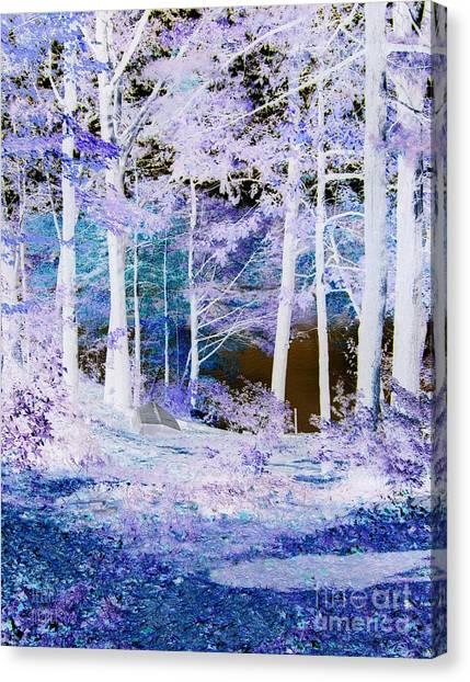 Blue Way Canvas Print