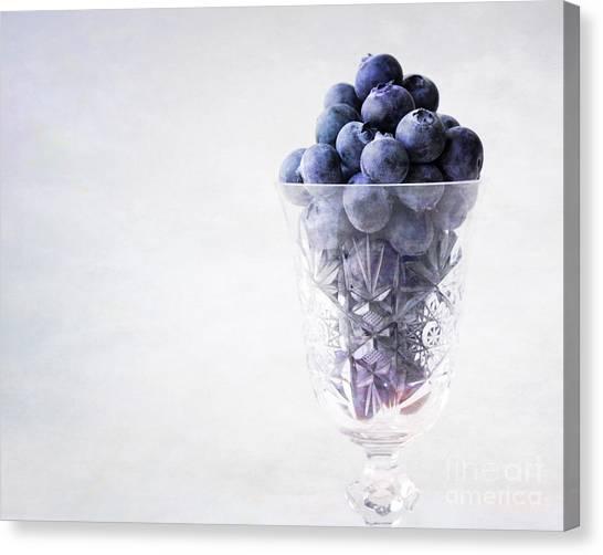 Blueberry Wine Canvas Print