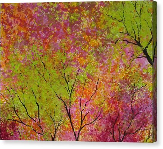 Blush 4 Canvas Print