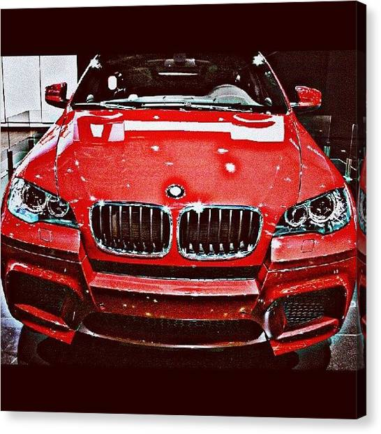 Grills Canvas Print - BMW by Parth Patel