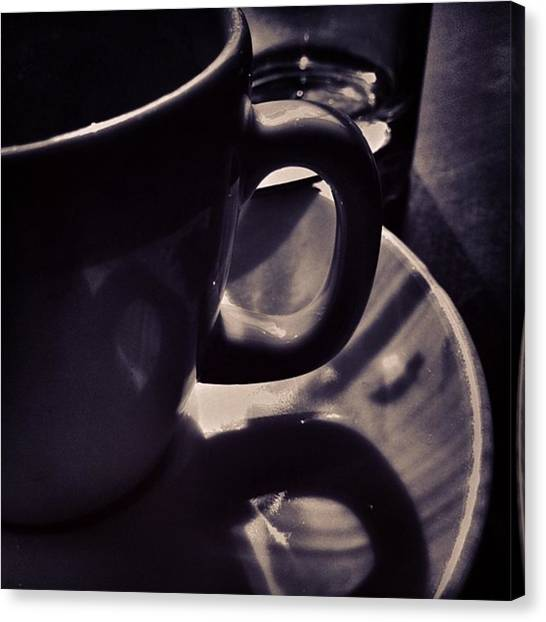 Drink Canvas Print - #bnw by Ritchie Garrod