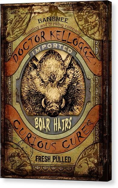 Boar Hairs  Canvas Print