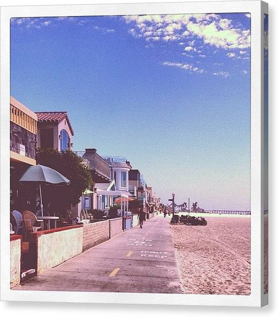 Mermaids Canvas Print - Boardwalk by Mermaid Lifee