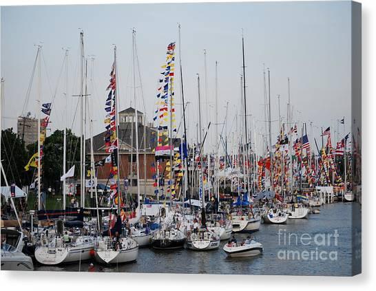 Boat Night Canvas Print