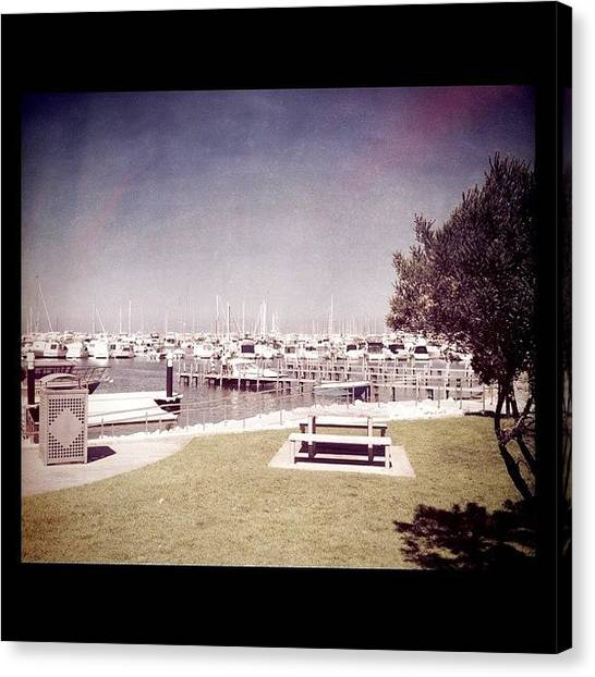 Marinas Canvas Print - #boats #iphonography #igerswestoz by Kirk Roberts