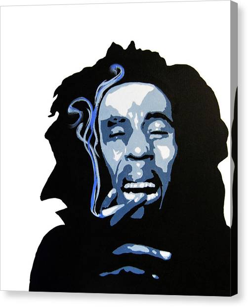 Bob Marley Canvas Print by Michael Ringwalt