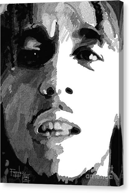 Bob Canvas Print by Patrizio Farinacci