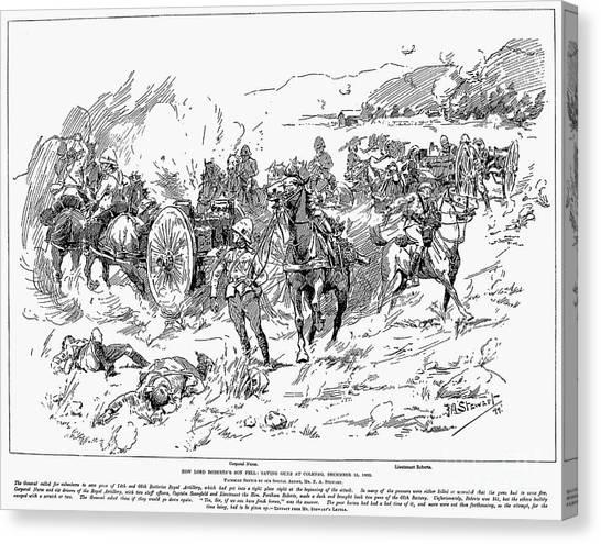 Sleds Canvas Print - Boer War, 1899 by Granger