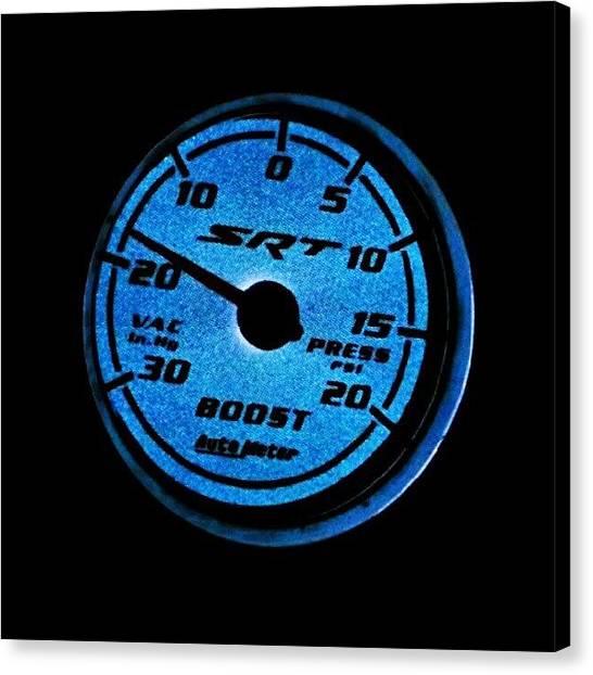 Dodge Canvas Print - #boost #dodge #caliber #srt4 #zoomzoom by Harvey Christian
