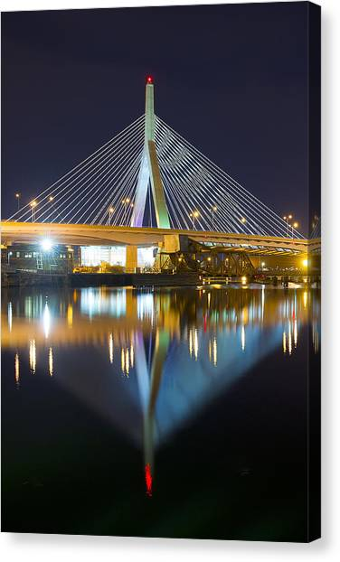 Boston Reflections Canvas Print
